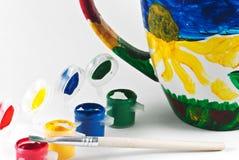 Copo colorido imagem de stock