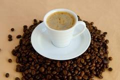 Copo com café Fotos de Stock