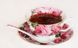 Copo com chá preto Foto de Stock Royalty Free