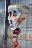 Copo-crânio (arte mexicana) fotografia de stock