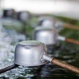 Copo da água isolado Imagens de Stock