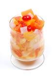 Copo da fruta Imagens de Stock Royalty Free