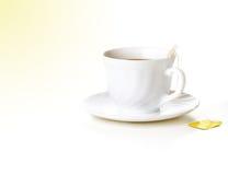 Copo da manhã do chá Imagem de Stock