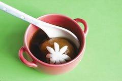 Copo de bolas de arroz pegajoso enchidas Imagem de Stock Royalty Free