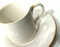 Copo de café 2 foto de stock royalty free