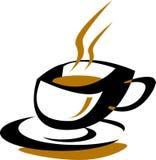 Copo de café ilustração royalty free