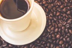 Copo de café branco Fotografia de Stock