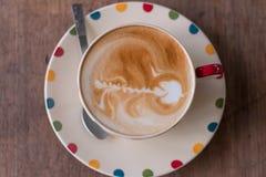 Copo de café branco Imagem de Stock