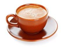 Copo de café cheio Fotos de Stock Royalty Free