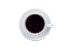 Copo de café com café preto Fotografia de Stock