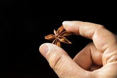 Copo de café com o violino na superfície da madeira Imagens de Stock Royalty Free