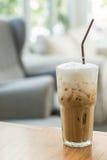 Copo de café congelado imagem de stock royalty free