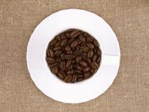Copo de café da grão Foto de Stock