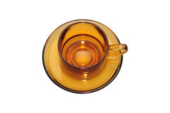 Copo de café de Brown Imagens de Stock Royalty Free
