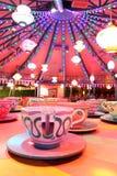Copos de chá do balanço Fotos de Stock Royalty Free
