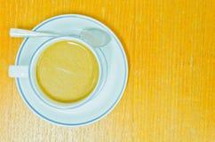 Copo de café em um fundo branco Imagem de Stock Royalty Free