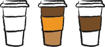 Copo de café a ir Fotos de Stock