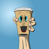 Copo de café a ir Foto de Stock