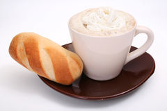 Copo de café isolado Fotografia de Stock Royalty Free