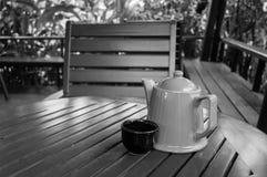 Copo de café na loja Fotos de Stock