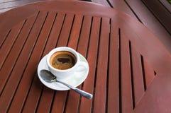 Copo de café na loja Imagens de Stock