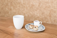 Copo de café no café Imagens de Stock