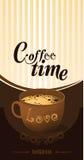 Copo de café no fundo branco Imagem de Stock Royalty Free