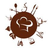 Copo de café no fundo escuro Imagem de Stock