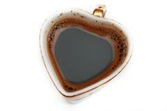 Copo de café preto Foto de Stock Royalty Free