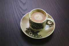 Copo de café tradicional de hainan Fotos de Stock Royalty Free