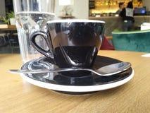 Copo de caf? no restaurante imagem de stock royalty free