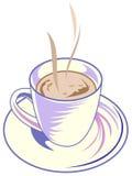 Copo de café quente Imagem de Stock