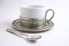 Copo de chá fotografia de stock