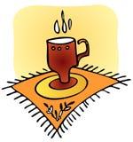 Copo de chá ilustração royalty free