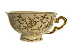 Copo de chá antigo foto de stock royalty free