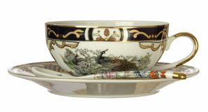 Copo de chá chinês imagens de stock
