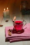 Copo de chá com canela Foto de Stock Royalty Free