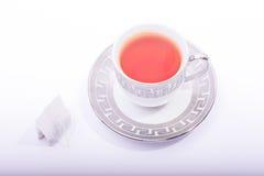 Copo de chá com saquinho de chá Imagem de Stock Royalty Free