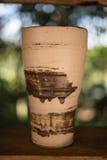 Copo de chá da cerâmica Imagem de Stock