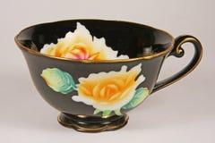 Copo de chá da porcelana foto de stock