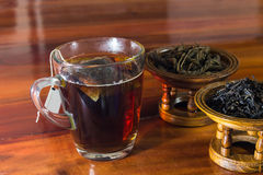 Copo de chá quente Fotografia de Stock Royalty Free