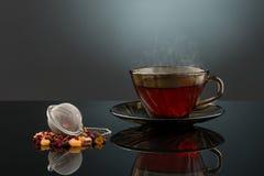 Copo de chá quente Imagem de Stock