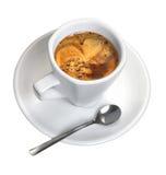 Copo de Cofee Fotografia de Stock Royalty Free