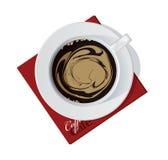 Copo de Coffe Foto de Stock