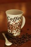 Copo de Coffe Imagem de Stock