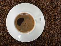 Copo de Coffe foto de stock royalty free