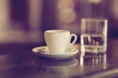 Copo de Coffe Imagens de Stock