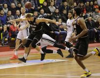 Copo de FIBA-Europa Basquetebol Rússia saratov fotos de stock royalty free