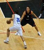 Copo de FIBA Trentino: Italy contra Canadá Foto de Stock Royalty Free
