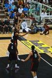 Copo de FIBA Trentino: Italy contra Canadá Fotografia de Stock Royalty Free